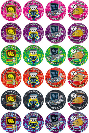 Computer Whizz Merit Stickers
