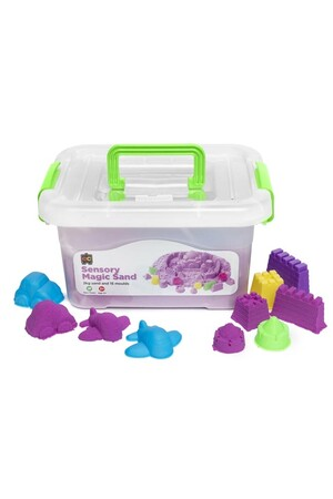 Sensory Magic Sand 2kg - Purple (with moulds)