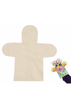 Calico Hand Puppets - Pack of 10