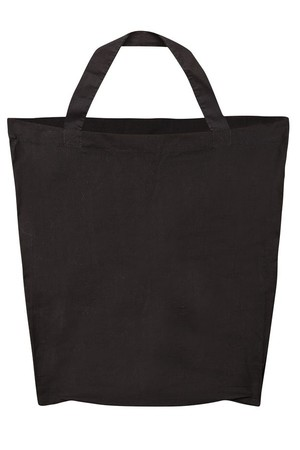 Black Cotton Bags - Pack of 10