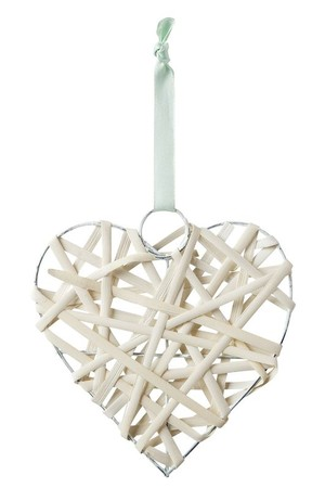 Natural Mesh Hearts - Pack of 10