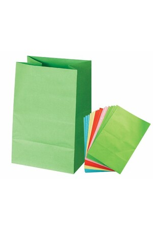 Paper Bag - Assorted Colours: Medium (Pack of 30)