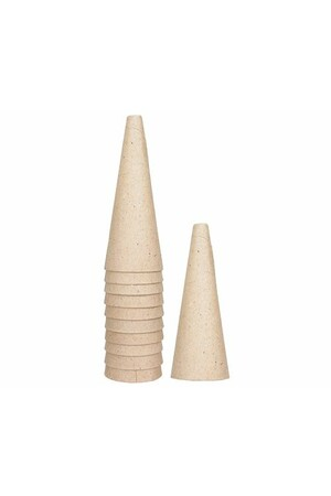 Cardboard Cone - Medium (12cm): Pack of 10