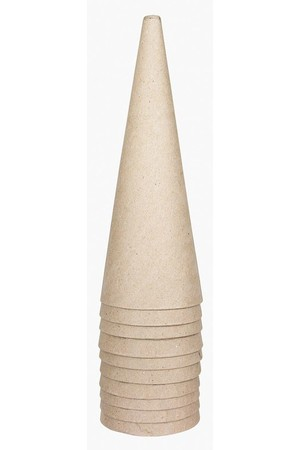 Cardboard Cone - Large (18cm): Pack of 10