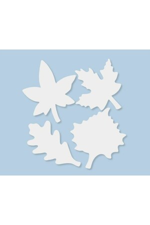 Colour Diffusing Leaves - Pack of 80
