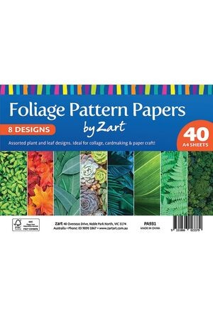 Pattern Papers Foliage