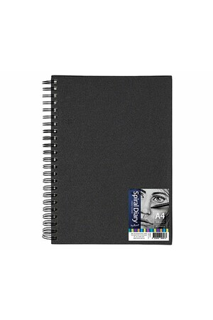 Zart - Hard Cover Spiral Diary A4 (100gsm)