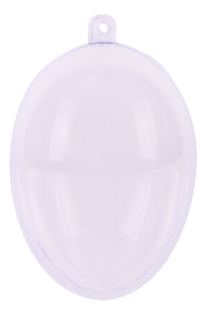 Plastic Clear Eggs - Pack of 5
