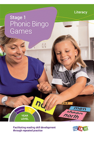 Phonic Bingo Games - Stage 1