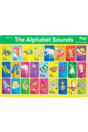 The Alphabet Sounds Double-Sided Placemat