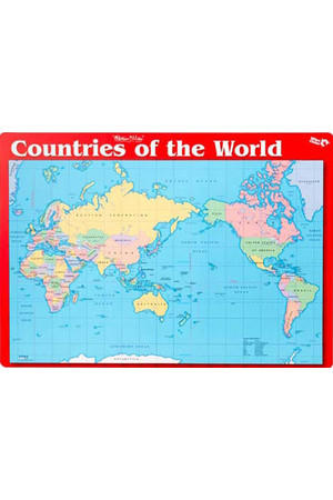 Countries of the World/Test Your Knowledge Double-Sided Placemat