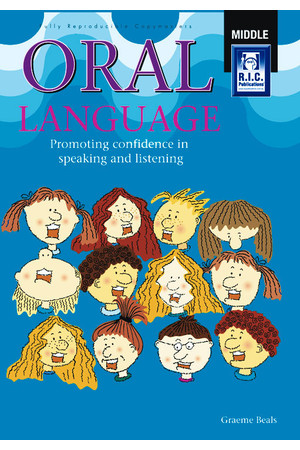 Oral Language - Ages 8-10
