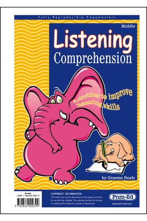 Listening Comprehension - Ages 8-10