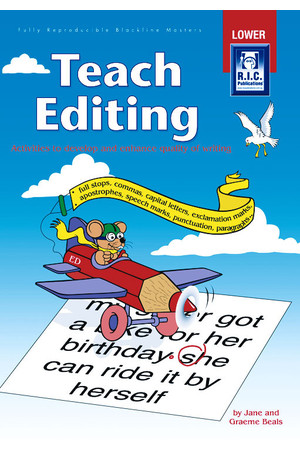 Teach Editing - Ages 5-8