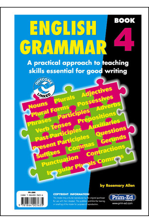 English Grammar - Book 4: Ages 8-9