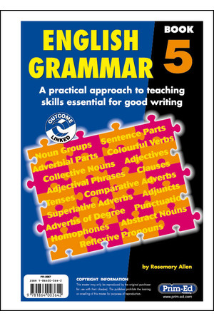 English Grammar - Book 5: Ages 9-10