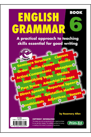 English Grammar - Book 6: Ages 10-11