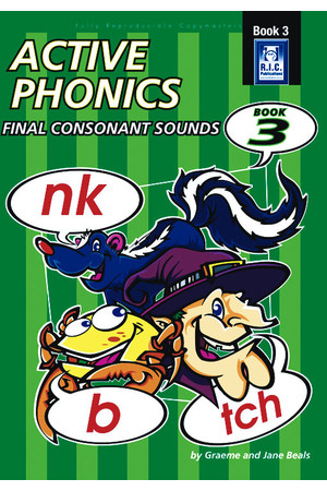 Active Phonics - Book 3