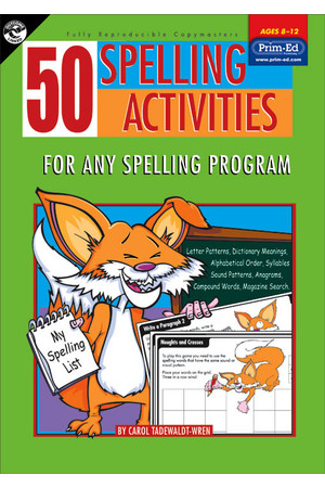 50 Spelling Activities - Ages 8-12