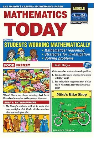 Mathematics Today - Ages 8-10