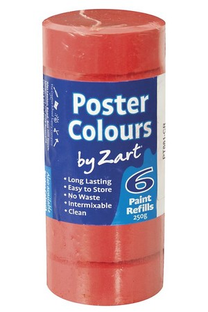 Poster Colours by Zart (Refills) - Crimson