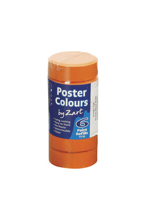 Poster Colours by Zart (Refills) - Orange