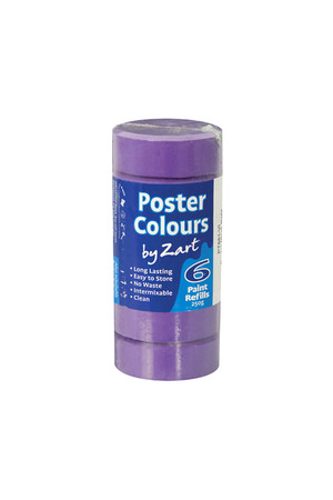 Poster Colours by Zart (Refills) - Violet