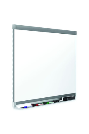 Quartet - Prestige 2  Graphite Frame Whiteboard: Porcelain (1200 x 915mm)