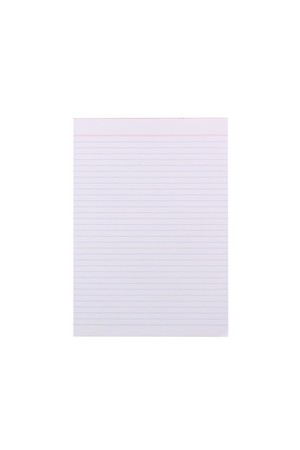 Quill Office Pads (A4) - Bank Ruled: 80 Leaf (Pack of 10)
