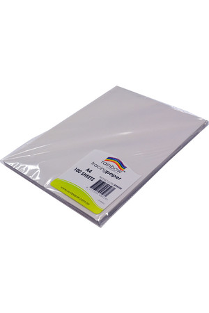 Rainbow Tracing Paper (A4) - 90gsm: Pk100