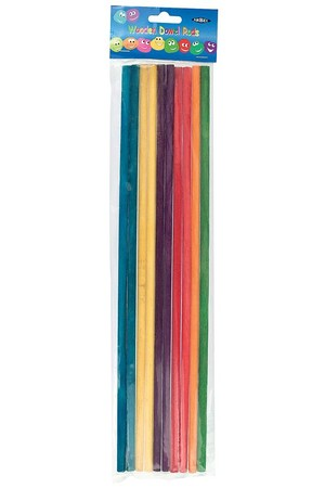 Dowel Rods - Coloured (Pack of 10)