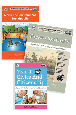 Australian Curriculum Humanities BLM Bundle - Year 4