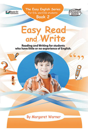 Easy English - Book 2: Easy Read and Write