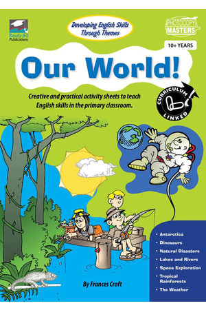 Developing English Skills through Themes - Book 2: Our World