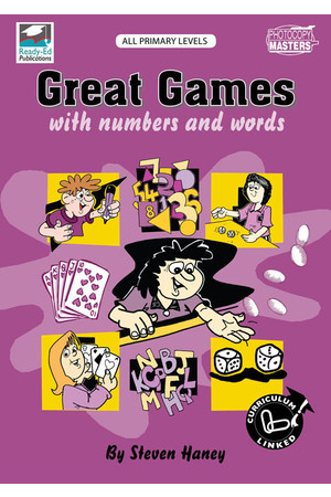 Great Games: With Numbers and Words