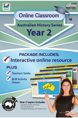 Online Classroom - Australian History Series: Year 2