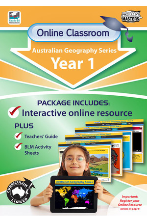 Online Classroom - Australian Geography Series: Year 1
