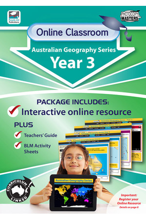 Online Classroom - Australian Geography Series: Year 3
