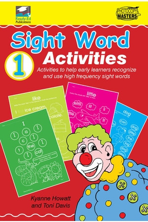 Sight Words - Book 1