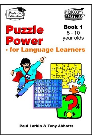 Puzzle Power for Language Learners - Book 1: Ages 8-10