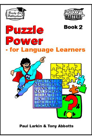 Puzzle Power for Language Learners - Book 2: Ages 10-12