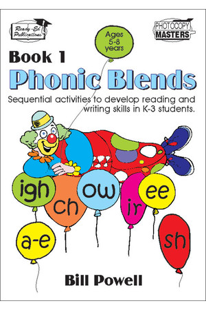 Phonic Blends - Book 1