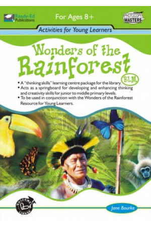 Wonders of the Rainforest - Activity Book (BLM)