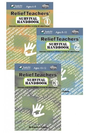 Relief Teachers' Survival Handbook Series - Book Pack