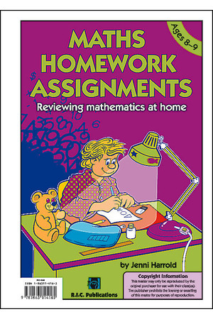 Maths Homework Assignments - Level 4: Ages 8-9
