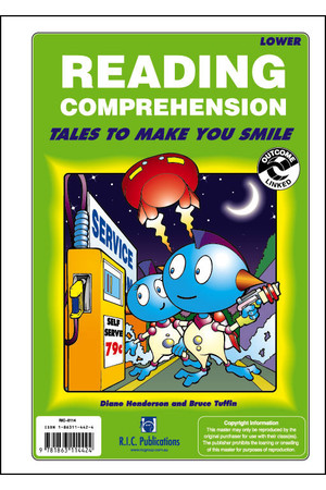 Reading Comprehension - Ages 5-8