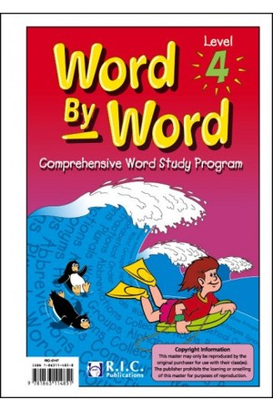 Word by Word - Level 4: Ages 8-9