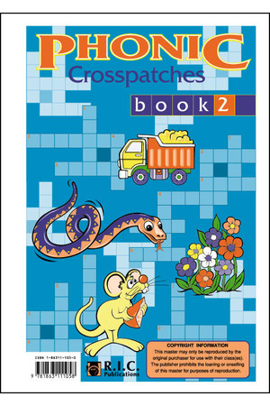 Phonic Crosspatches - Book 2: Ages 5-7