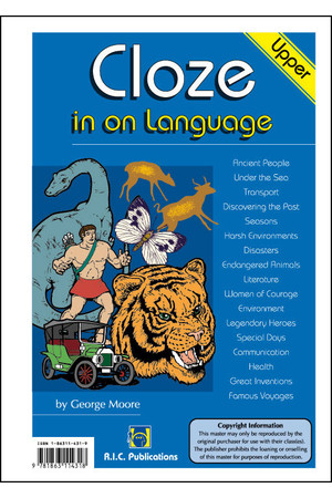 Cloze in on Language - Ages 10-11