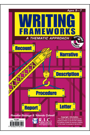 Writing Frameworks - Ages 5-7